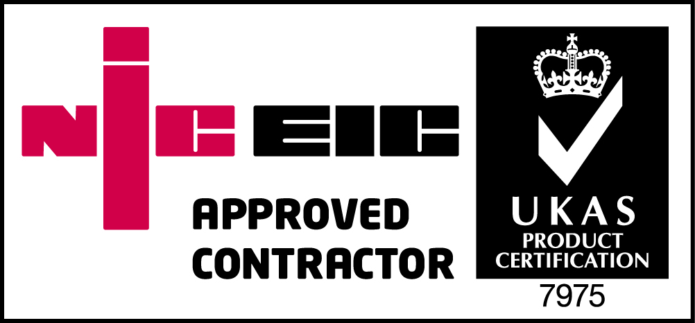 Customcall Electrical NIC EIC Approved Contractor Reg 7975
