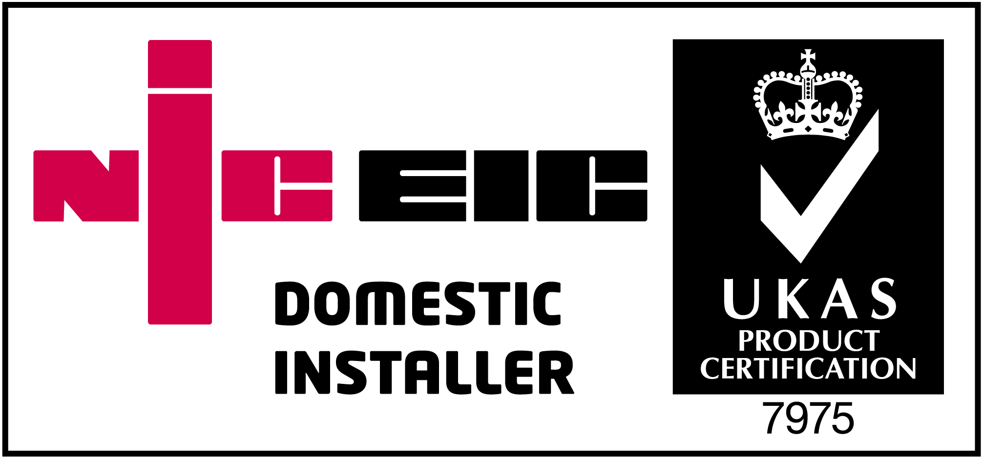 Customcall Electrical NIC EIC Domestic Installer Reg 7975