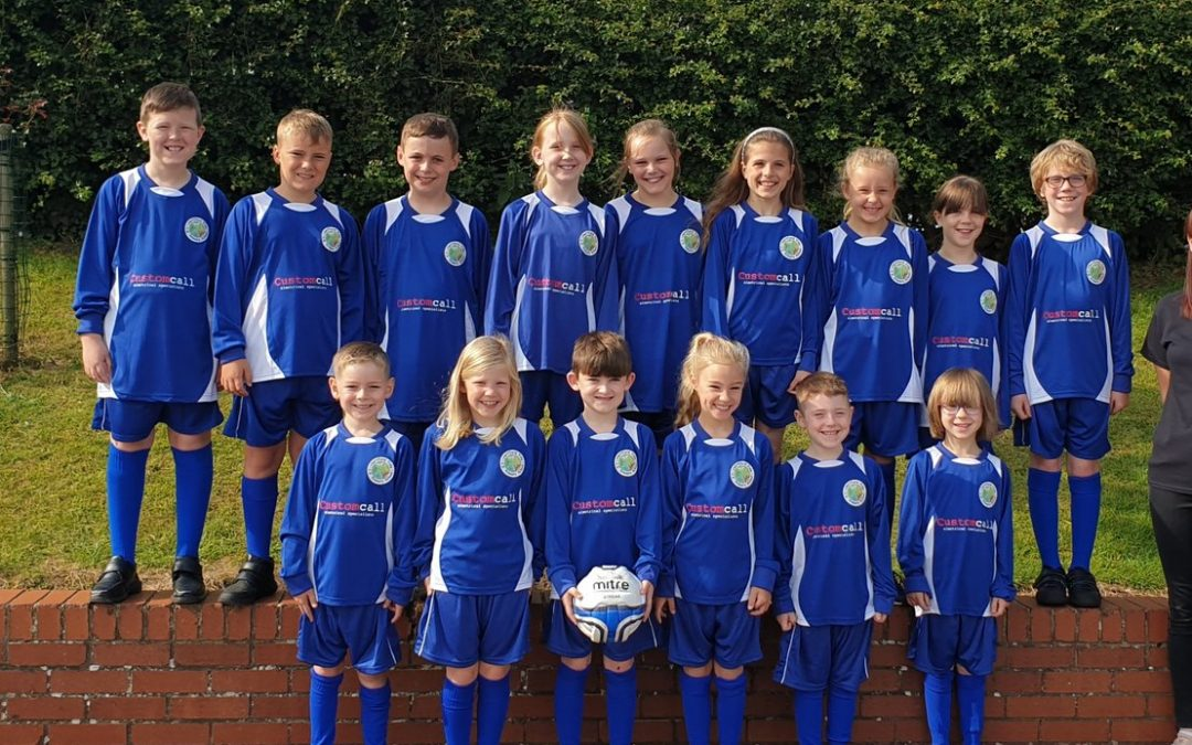 Customcall provide school sports kit to Hertford Vale
